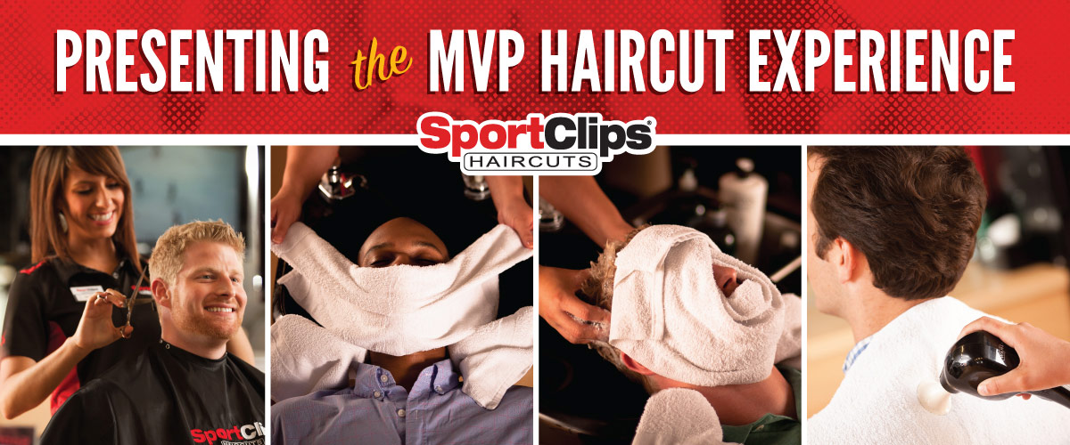 The Sport Clips Haircuts of Denver - Glendale MVP Haircut Experience
